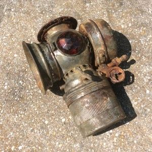 Antique Bicycle / Motorcycle Lamp